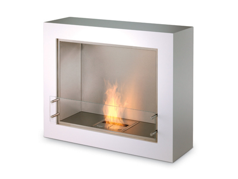 fireplace ethanol contemporaine biofuel vioaithanolis wall foyer tzakia ouvert mounted bio cheminee murale bioethanol en glass epitoixia