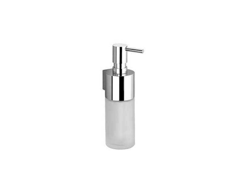 Wall-mounted liquid soap dispenser SYMETRICS by Dornbracht