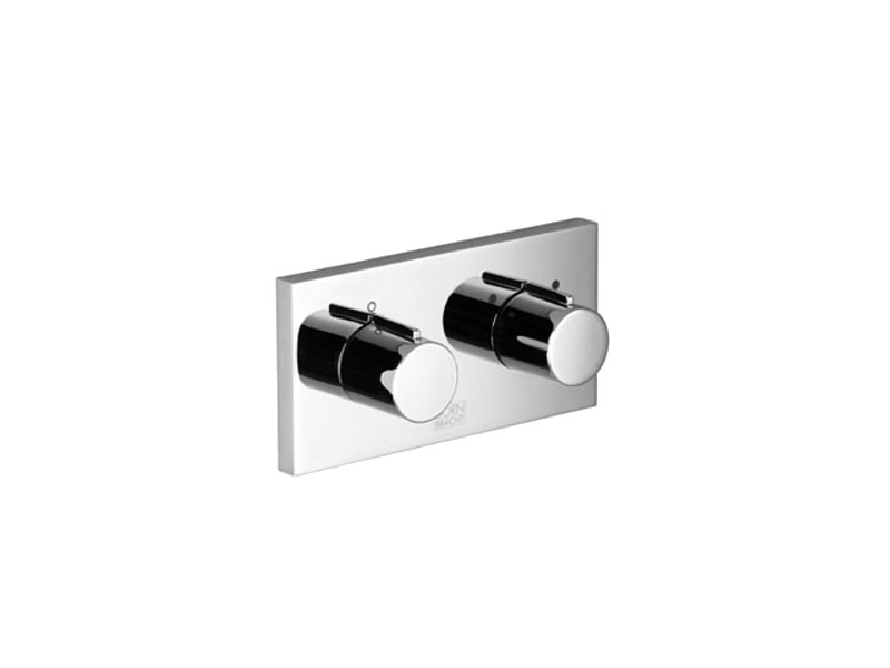 2 hole chrome-plated shower tap with plate XGATE | Shower tap by Dornbracht