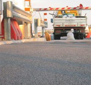 Trattamento anti attrito per asfalto e/o cls REpav by MAGE