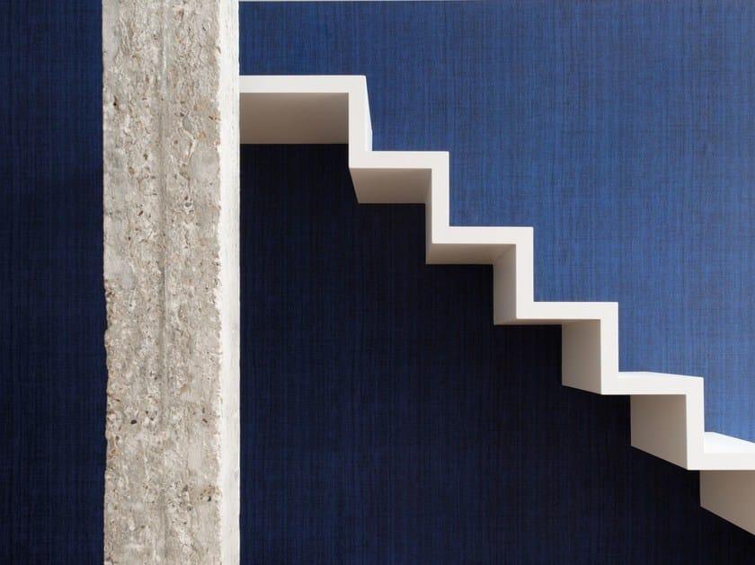 Solid-color raffia wallpaper AMBRE by Élitis