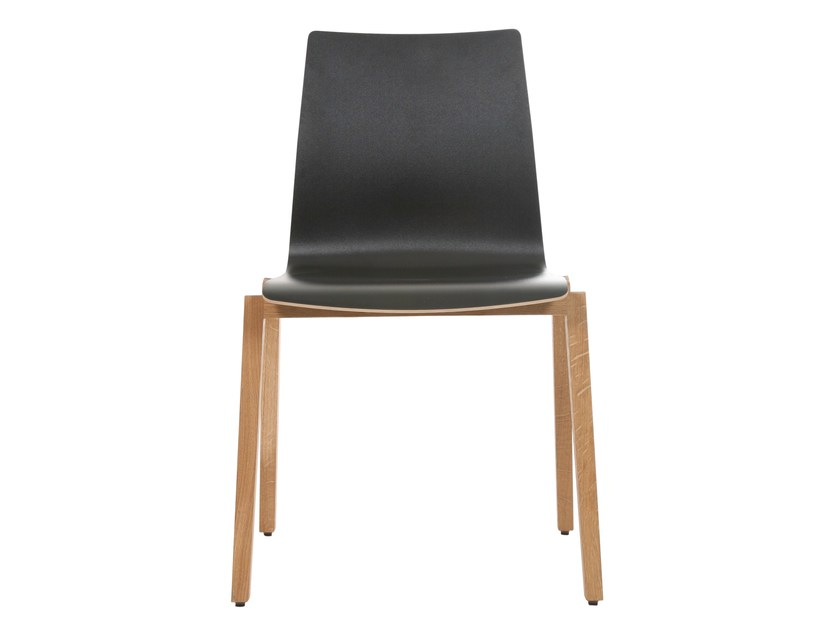 Stackable HPL chair ALEC PLUS | Stackable chair by KFF