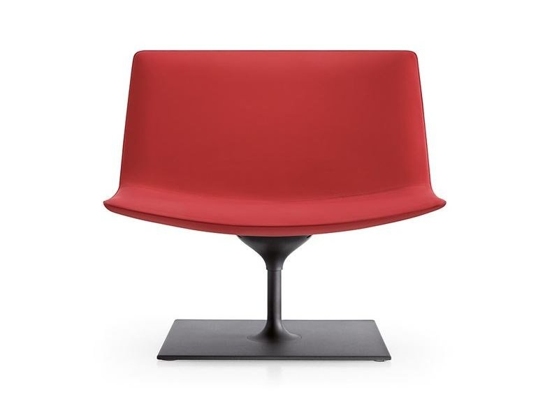 Central base CATIFA 80 | Swivel easy chair by arper