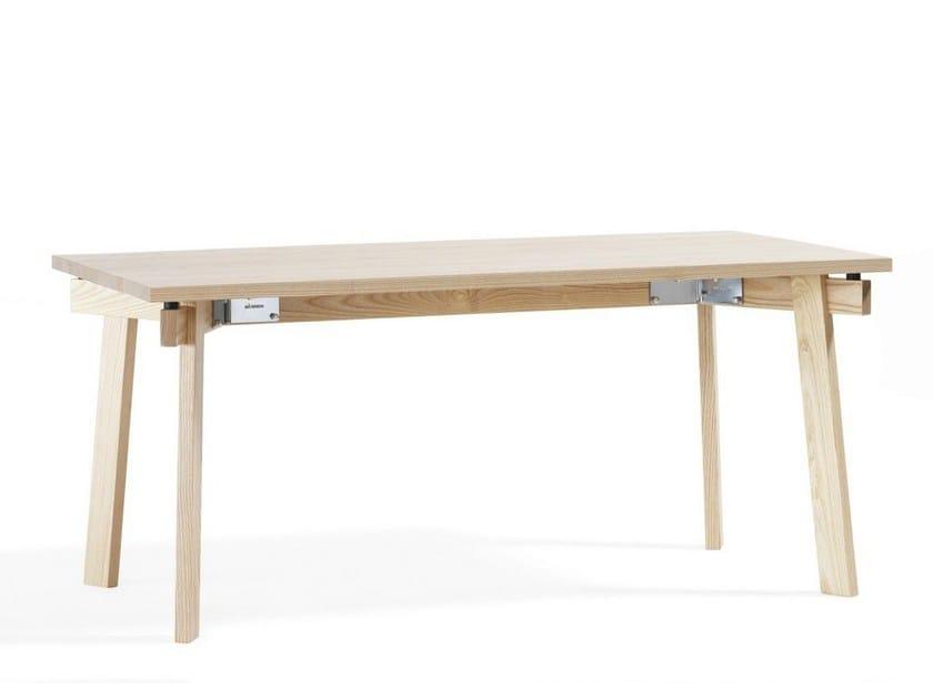 Rectangular wooden table SIZE | Rectangular table by Blå Station