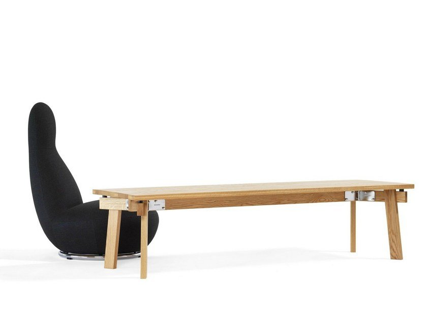 Low rectangular coffee table SIZE | Low coffee table by Blå Station