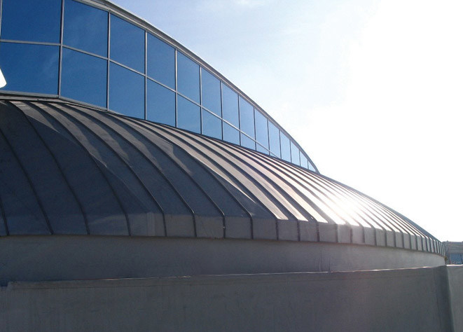 Composite panel for roof Silver Art® by FLAG