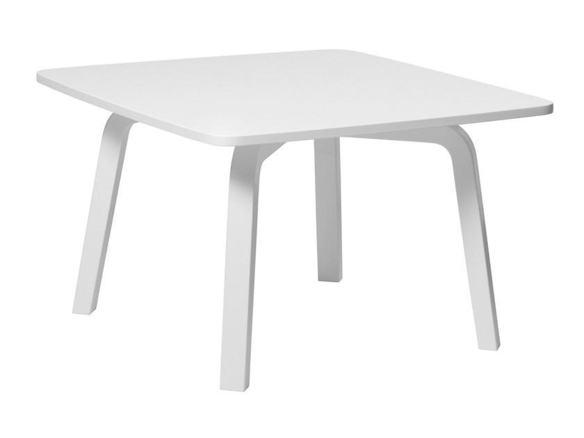 Square wooden coffee table HK022 | Square coffee table by Artek