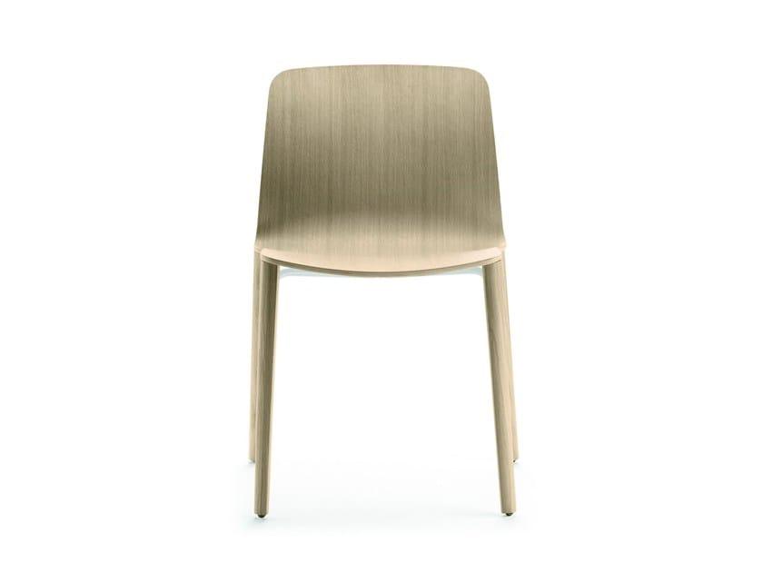 Stackable oak chair JANTZI | Chair by ALKI