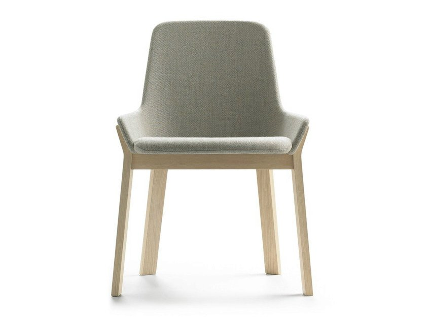 Upholstered fabric chair KOILA | Fabric chair by ALKI