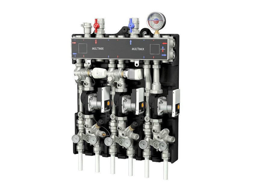 Control system for air conditioning system MULTIMIX by IVAR