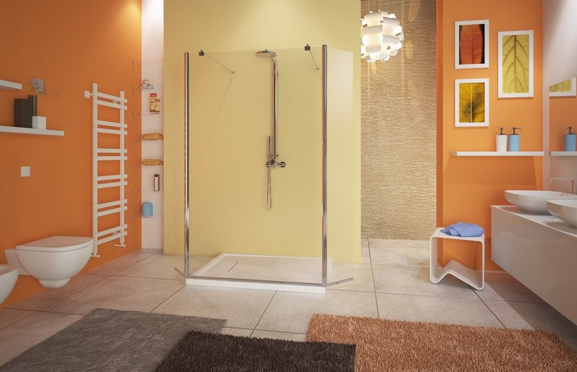 Rectangular glass shower cabin WEB 4.0 SEPARÈ SPX by MEGIUS