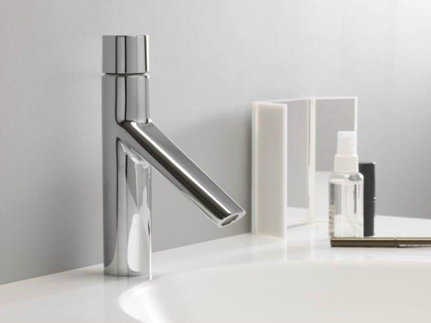 Chrome-plated single handle washbasin tap RUBINETTO by CRISTINA