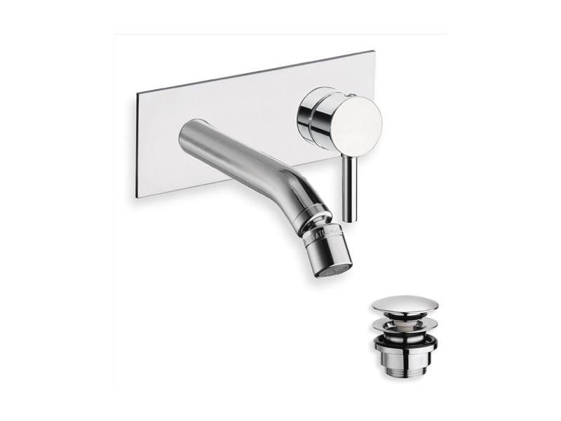 Wall-mounted single handle bidet mixer CX by CRISTINA