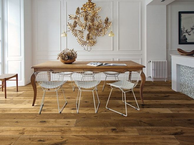 Oak parquet KALIKA by Woodco