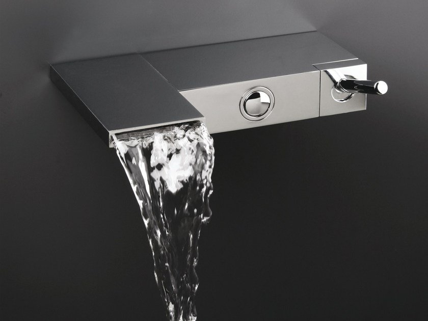 Wall-mounted bathtub mixer MODUL by CRISTINA