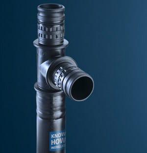 Tubazione e pezzi speciali per rete idrica Mepla by Geberit Italia