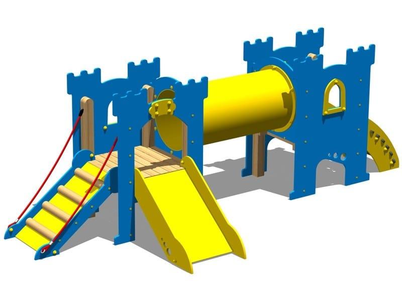 Polyethylene Overhead ladder CASTELLO NOTTINGHAM by Legnolandia