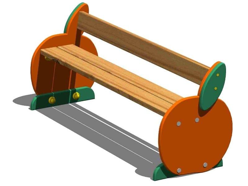 Pine Bench / Kids bench ARANCIA | Kids bench by Legnolandia