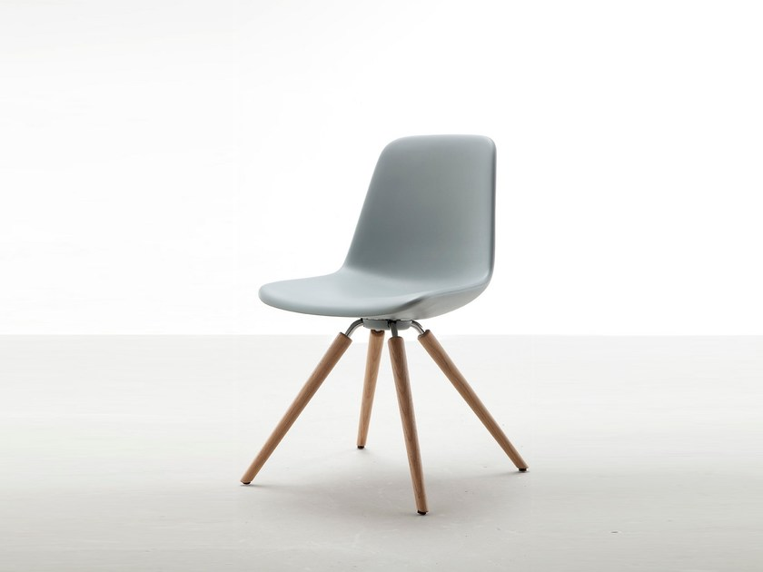 Ergonomic Freeform advanced chair STEP WOOD by Tonon