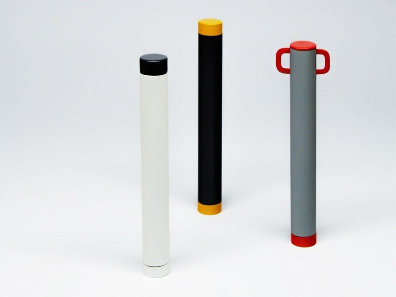 Steel bollard post PEPE by LAB23 - Urban Smart Living