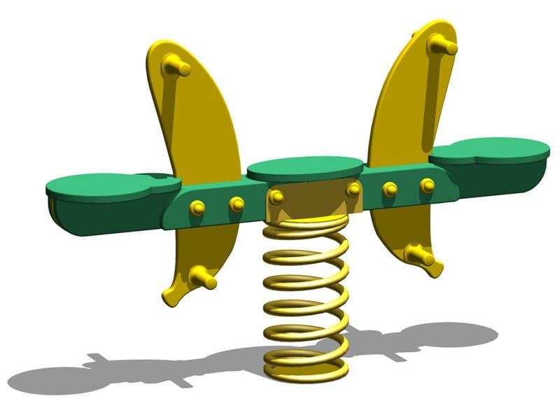 Polyethylene Spring toy BANANA SPRING by Legnolandia