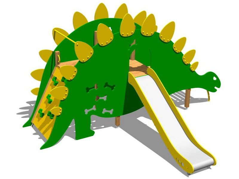 Play structure STEGOSAURUS by Legnolandia