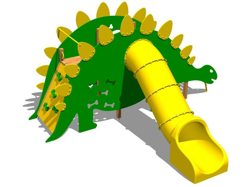 Play structure STEGOSAURUS POLY by Legnolandia
