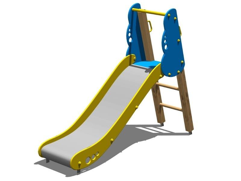 Polyethylene Slide NUBE 100 by Legnolandia