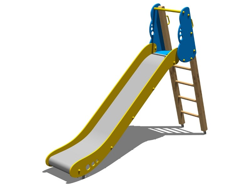 Polyethylene Slide NUBE 150 by Legnolandia