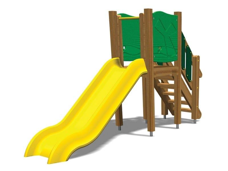 Polyethylene Slide SCOIATTOLO 100 by Legnolandia