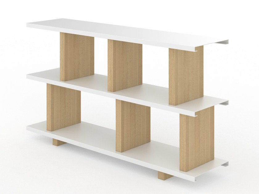 Open freestanding shelving unit DREH by Tojo Möbel