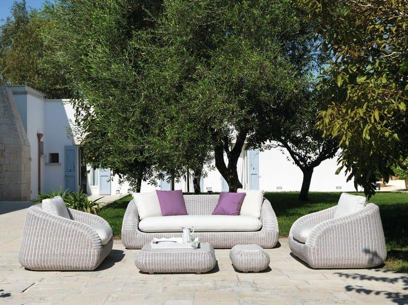 Ethimo EtWick® sofa PHORMA | Sofa by Ethimo