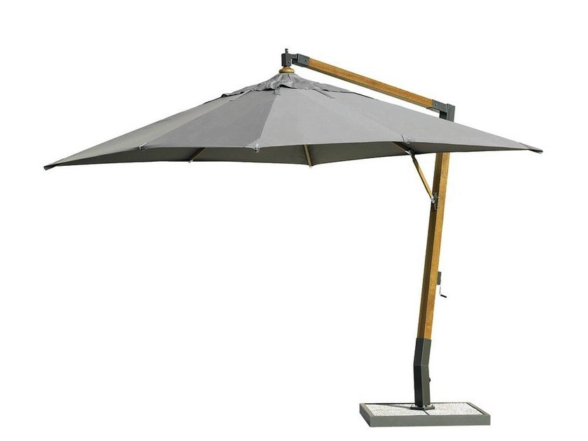 Good Square Offset Garden Umbrella HOLIDAY | Square Garden Umbrella By Ethimo