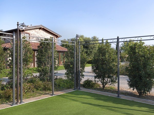 Fence PERGOLA FOR TENNIS-COURT by CAGIS