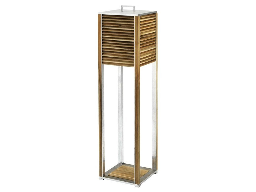 Teak Floor lamp GINGER | Floor lamp by Ethimo