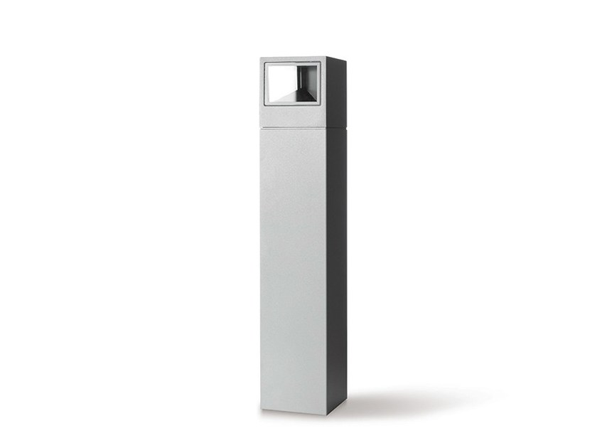 LED aluminium bollard light ONE PALETTO | LED bollard light by Platek
