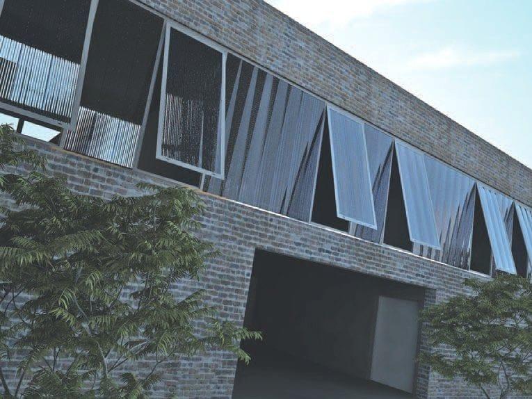 ARCOPLUS® 344X Finestrature verticali in policarbonato