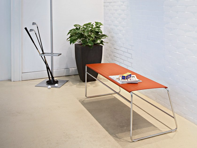 Aluminium bench ESTROSA | Bench by ALMA DESIGN