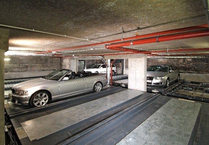 LEVELPARKER Impianto di parcheggio automatizzato Levelparker