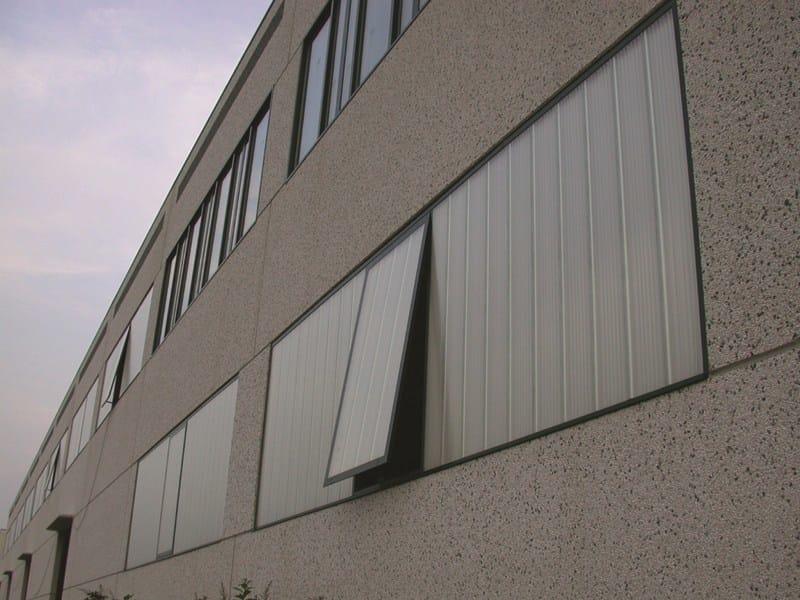 ARCOPLUS® | Finestra I sistemi apribili arcoPlus® in policarbonato U.V. protetto per la ventilazione degli edifice