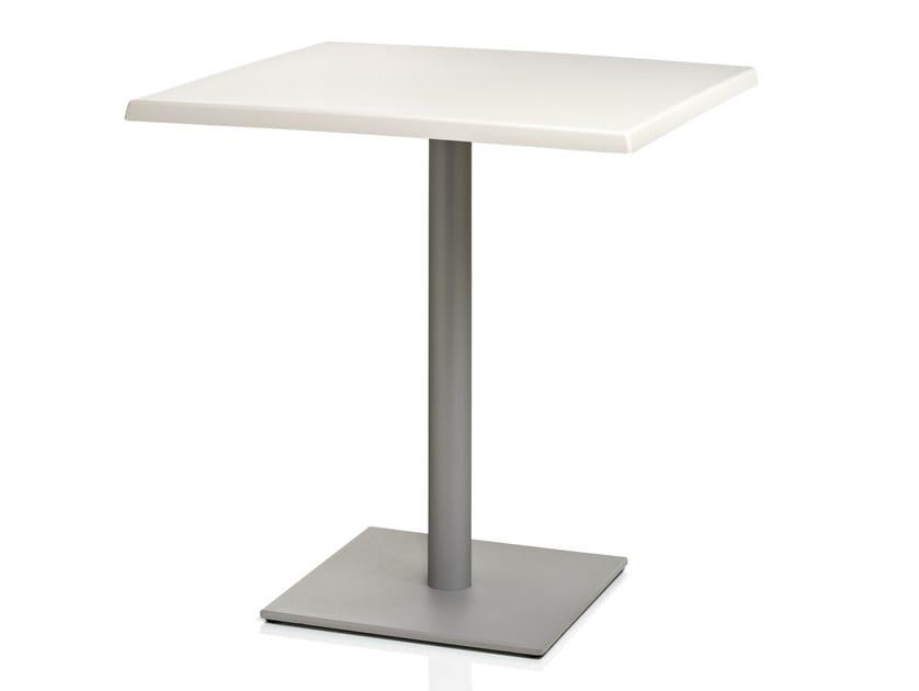 Square laminate table