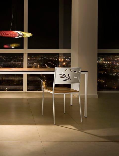 Rectangular laminate table