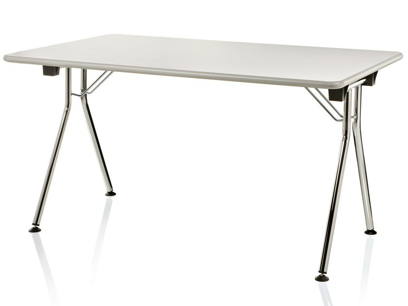 Folding rectangular table INKA by ALMA DESIGN