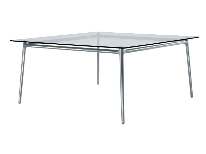 Square crystal table ALEX | Square table by REXITE