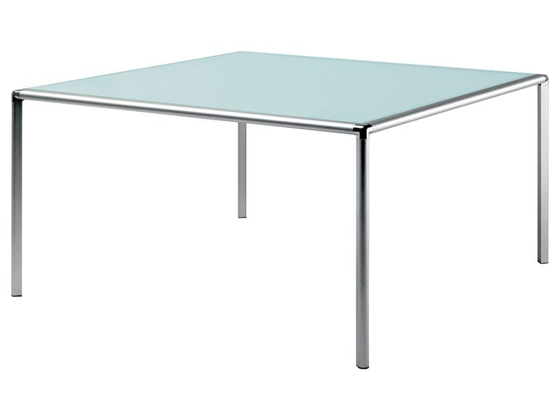 Square crystal table ENRICO X | Square table by REXITE