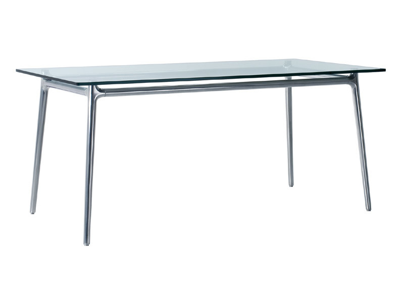 Rectangular crystal table ALEX | Rectangular table by REXITE