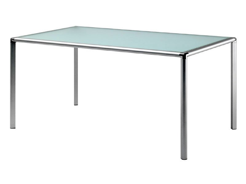 Rectangular crystal table ENRICO X | Rectangular table by REXITE