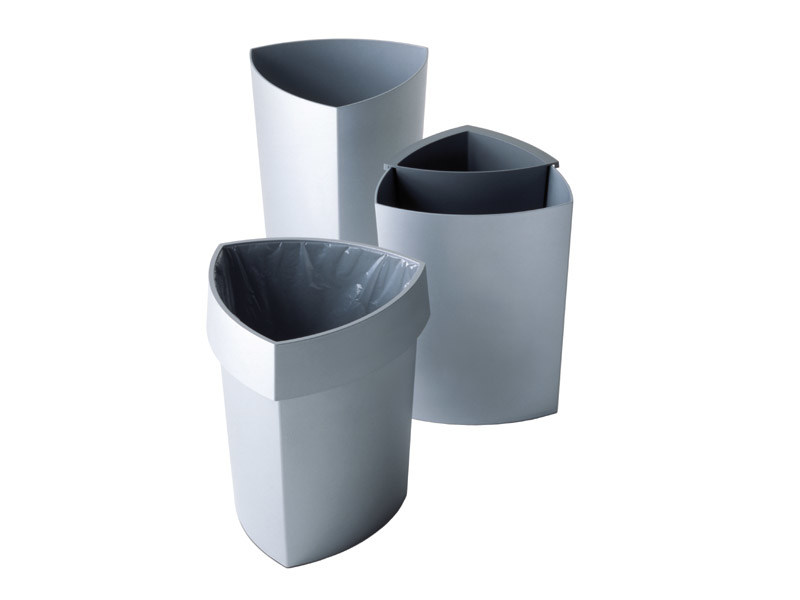 Technopolymer waste paper bin ECO by REXITE
