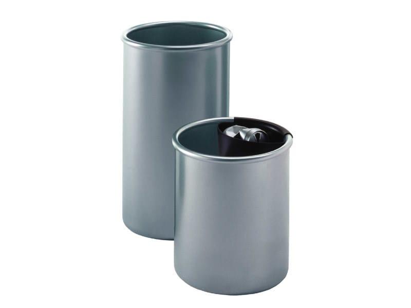 Steel waste paper bin COLMO | Waste paper bin by REXITE