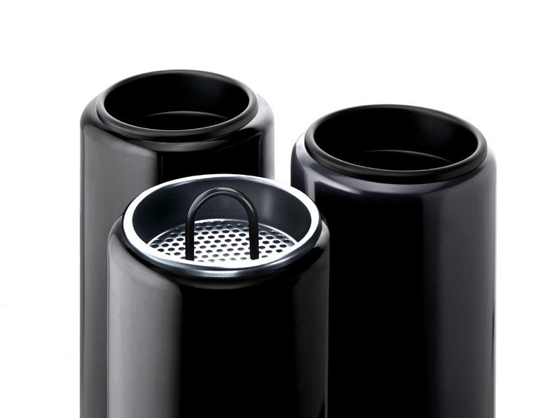 Technopolymer office ashtray BIRILLO | Office ashtray by REXITE
